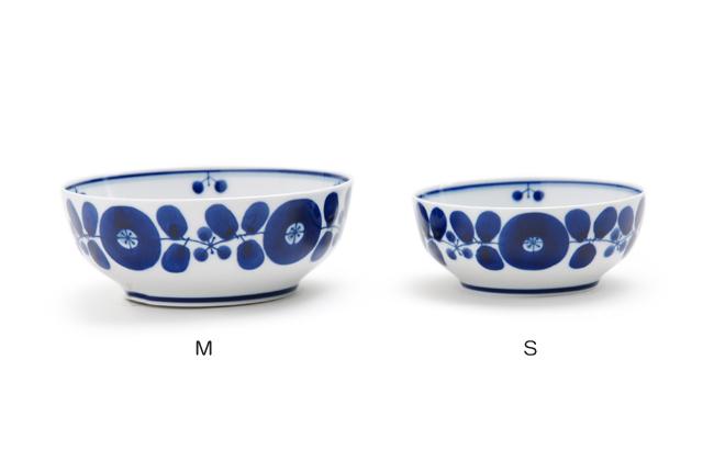 白山陶器 ブルーム ボール SMサイズ比較