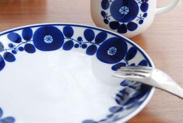 白山陶器 ブルーム プレート(M)