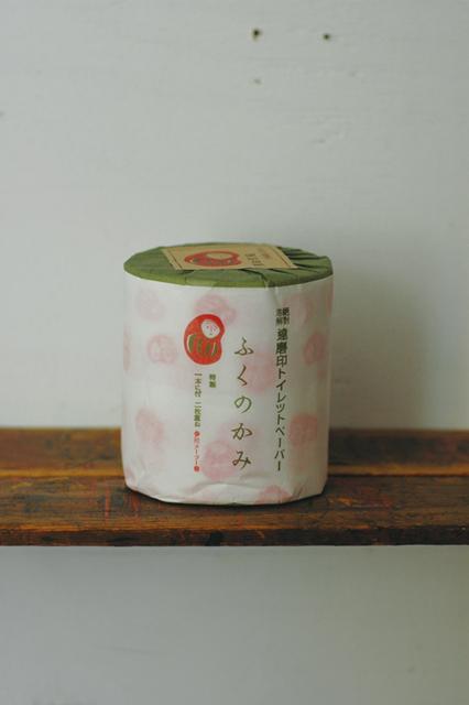 倉敷意匠計画室 夜長堂 達磨印トイレットペーパー(ふくのかみ)