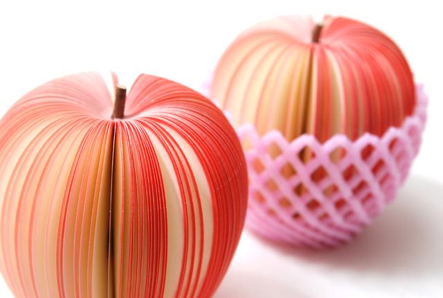 D-BROS フルーツメモ 「KUDAMEMO」 リンゴ